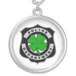 Oficiales de policía irlandeses grimpolas personalizadas