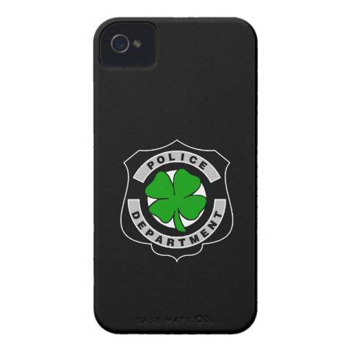 Oficiales de policía irlandeses Case-Mate iPhone 4 funda
