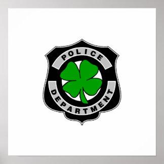 Oficiales de policía irlandeses posters