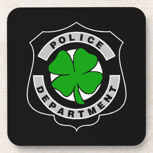 Oficiales de policía irlandeses posavaso
