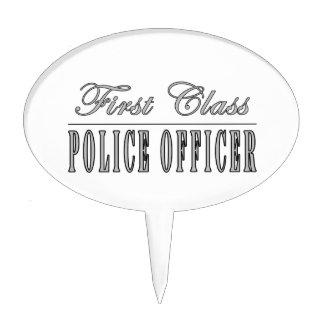 Oficiales de policía Oficial de policía de la pri Figura De Tarta
