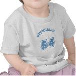 Oficialmente 54 camisetas