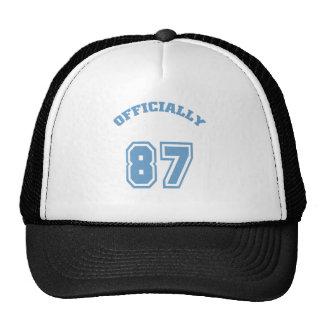 Oficialmente 87 gorra