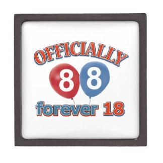 Oficialmente 88 para siempre 18 cajas de joyas de calidad