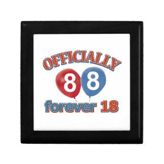 Oficialmente 88 para siempre 18 cajas de recuerdo