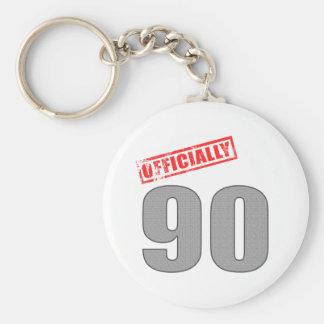Oficialmente 90 regalos de cumpleaños llavero personalizado