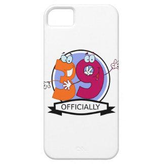 Oficialmente bandera de 39 cumpleaños iPhone 5 cárcasa