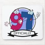 Oficialmente bandera de 97 cumpleaños alfombrillas de raton