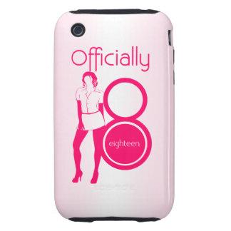 Oficialmente dieciocho (18) caso del iPhone 3/3GS iPhone 3 Tough Carcasas