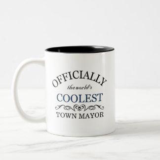 Oficialmente el alcalde más fresco de la ciudad taza de dos tonos