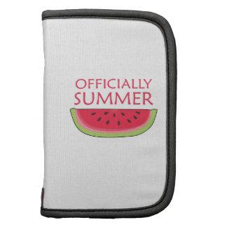 Oficialmente verano organizadores