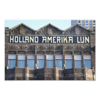 Oficina anterior de HAL, Rotterdam Fotografia