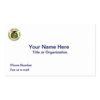 Oficina de responsabilidad de gobierno tarjetas de negocios