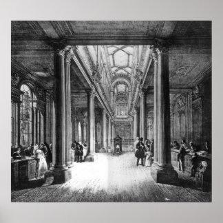 Oficina del dividendo, Banco de Inglaterra Póster
