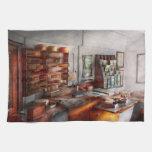 Oficina - el cuarto del contador de navío toalla de cocina