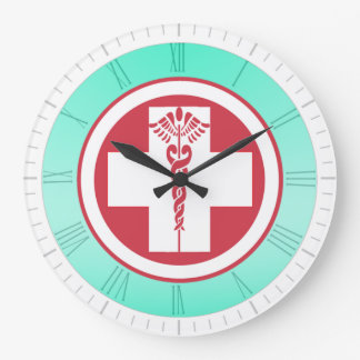 Oficina/hospital/reloj médicos del oficio de reloj redondo grande