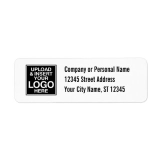 Oficina o etiqueta básica de la dirección etiqueta de remite