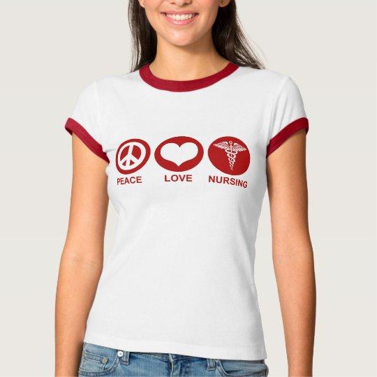 Oficio de enfermera del amor de la paz playera