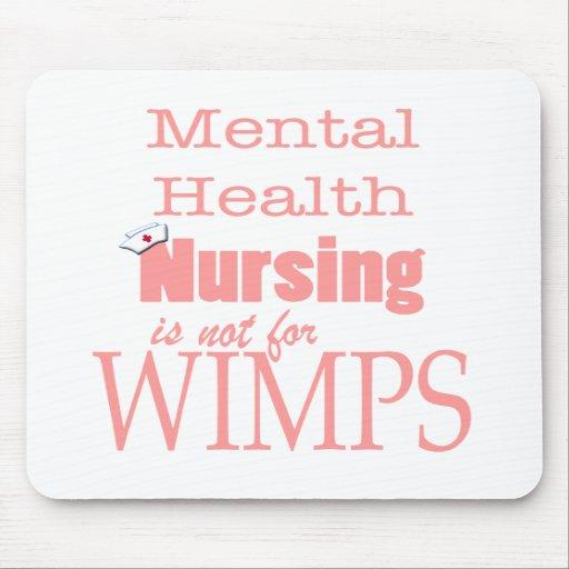¡Oficio de enfermera-No de la salud mental para lo Tapetes De Ratones