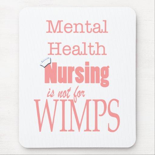 ¡Oficio de enfermera-No de la salud mental para lo Tapete De Ratones