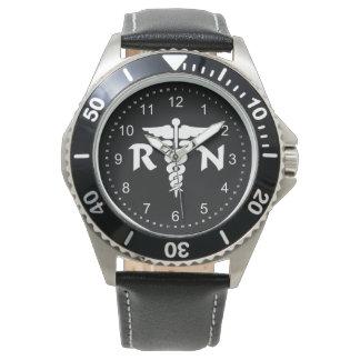 Oficio de enfermera RN Reloj