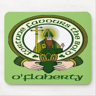 O'Flaherty Clan Motto Mouse Pad