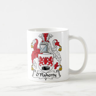 O'Flaherty Family Crest Coffee Mugs