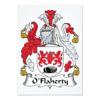 O'Flaherty Family Crest Invite