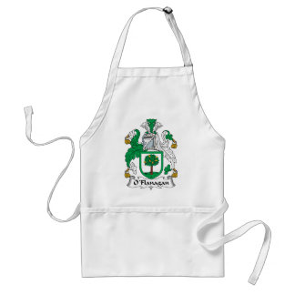 O'Flanagan Family Crest Adult Apron