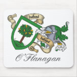O'Flanagan Family Crest Mouse Pad