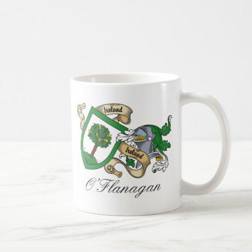 O'Flanagan Family Crest Mugs