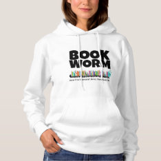 Ofml Book Worm Hoodie at Zazzle