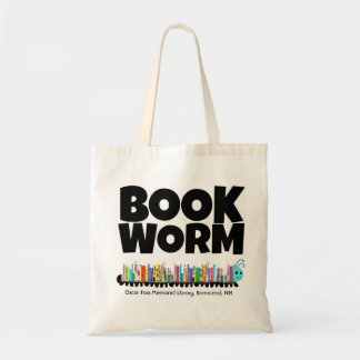 OFML Book Worm Tote Bag