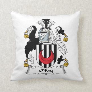 O'Foy Family Crest Pillow