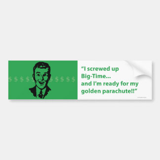 ¡Ofrecido de garantía! pegatina para el parachoque Etiqueta De Parachoque
