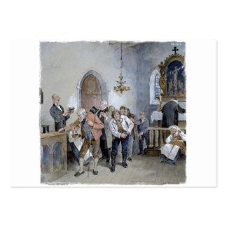 Ofrecimiento de la iglesia tarjetas de visita grandes