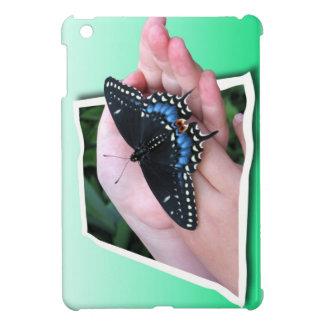 Ofrecimiento de la mariposa iPad mini protector
