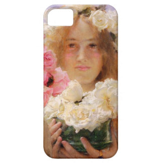 Ofrecimiento del verano de Lorenzo Alma Tadema iPhone 5 Cobertura