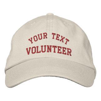 Ofrézcase voluntariamente gorra bordado causa gorra de béisbol