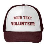 Ofrézcase voluntariamente gorra de la causa