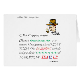 ofs GREEN ENERGY PLAN Card