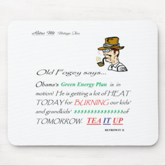 ofs GREEN ENERGY PLAN Mouse Pad