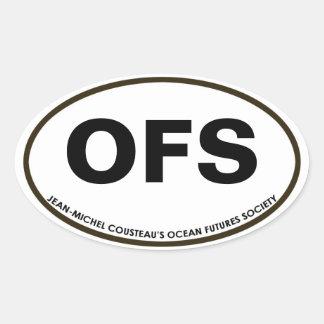 OFS Oval Sticker