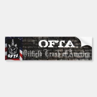 OFTA Bumper Sticker 1