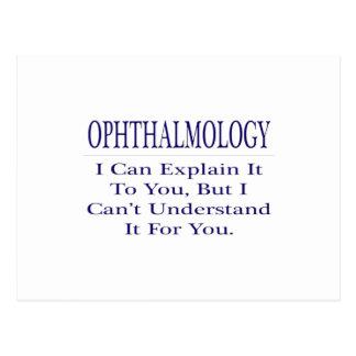 Oftalmología. Explique para no entender Tarjetas Postales