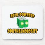 Oftalmólogo Cerveza-Accionado Tapete De Ratones