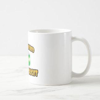 Oftalmólogo Cerveza-Accionado Taza De Café