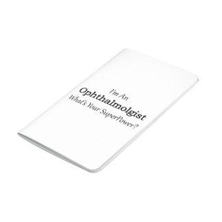 Oftalmólogo Cuaderno Grapado