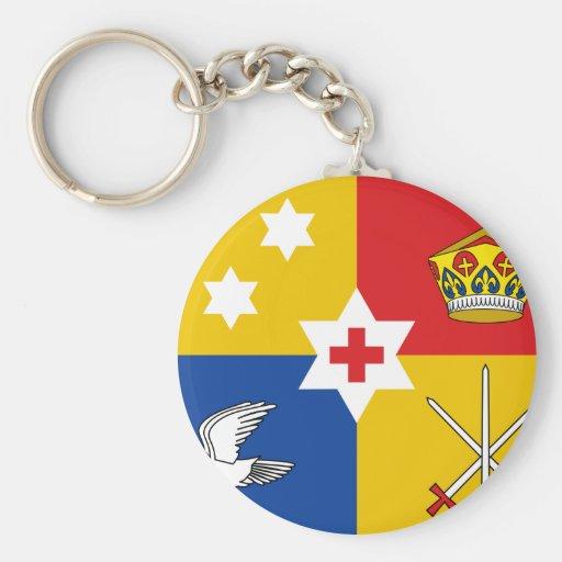 Oftonga estándar real, Panamá Llavero