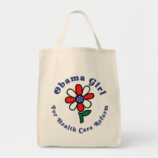 OG for Health Care Reform - Natural Grocery Tote Grocery Tote Bag